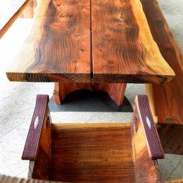 tischplatte Mammutbaum, ca 9  x 234  x 162 cm