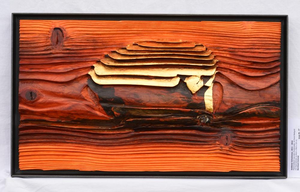 Goldener Schwimmer - 67 x 40 cm