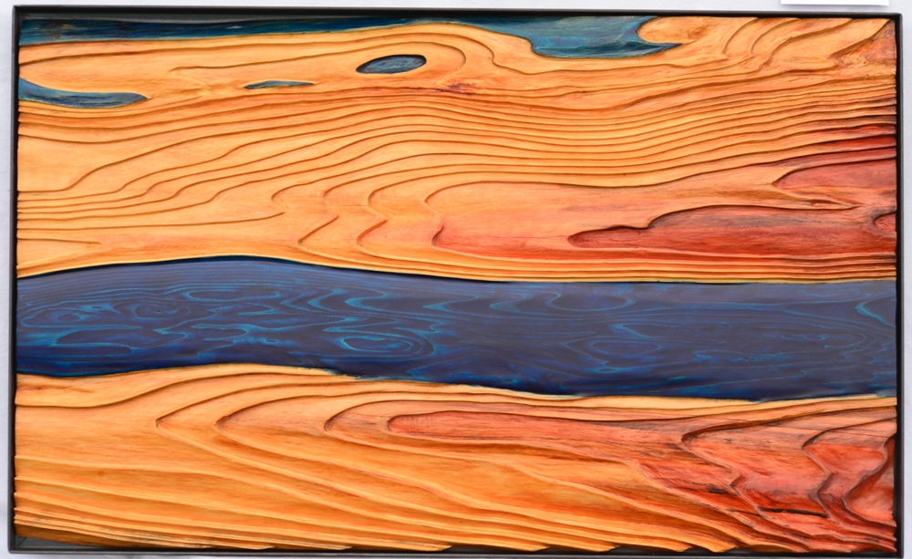 Wasser Stille - 116 x 71,5 cm