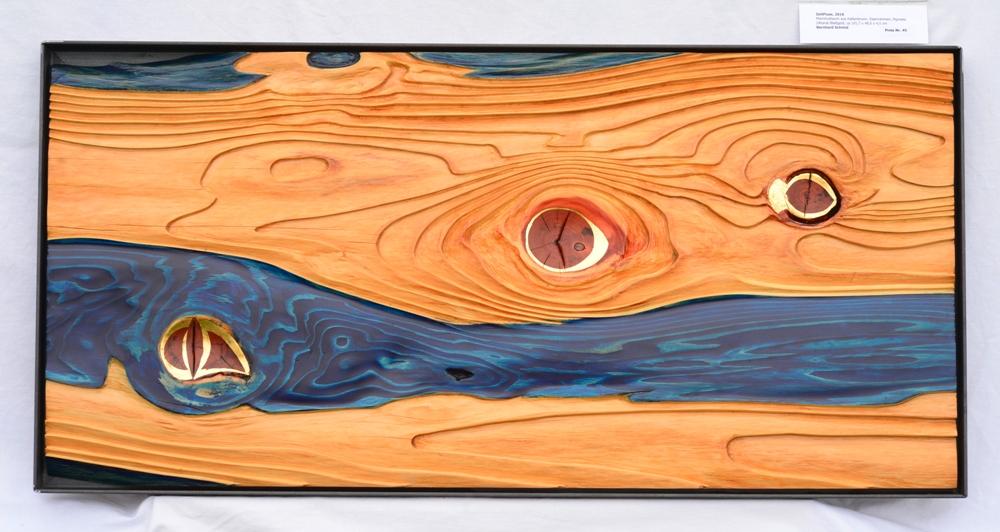 Zeit-Fluss- 103  x 50 cm